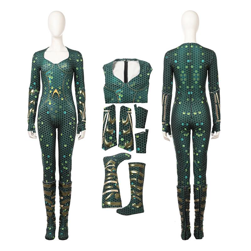 Top Level DC Justice League Aquaman Mera Cosplay Costume