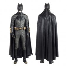 Justice League Outfits Batman Cosplay Costume DC Hero Bruce Wayne Costume