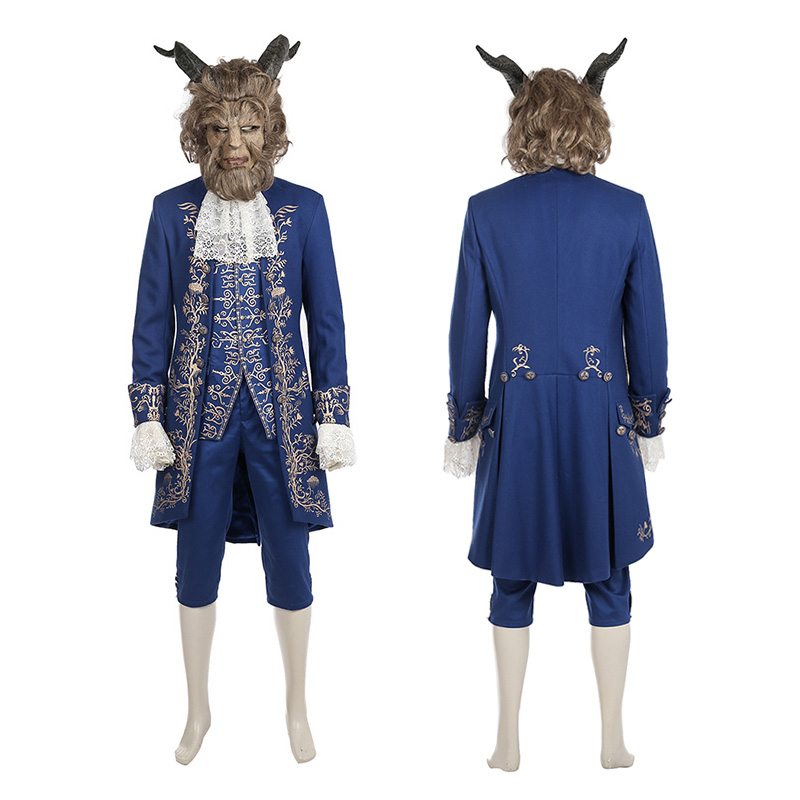 2017 Beauty and the Beast Cosplay Costume Beast Prince Costume