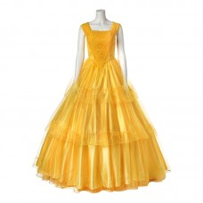 Beauty and the Beast Cosplay Costume Belle Ultra Prestige Adult Costume