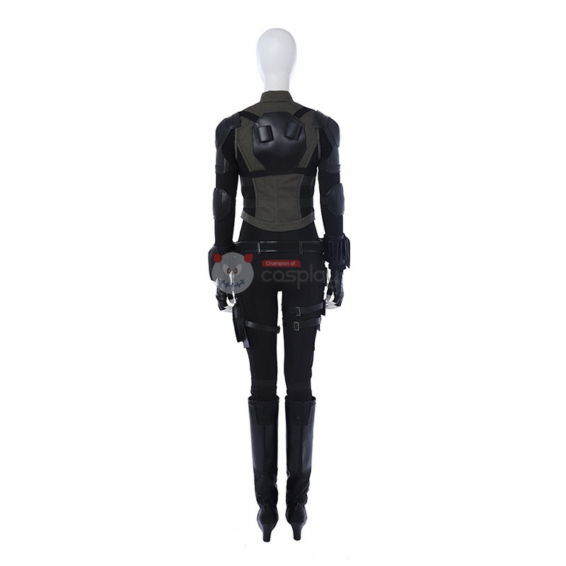 Black Widow Natasha Romanoff The Avengers Cosplay Costume