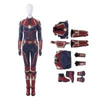 Carol Danvers Cosplay Costume Captain Marvel Costume