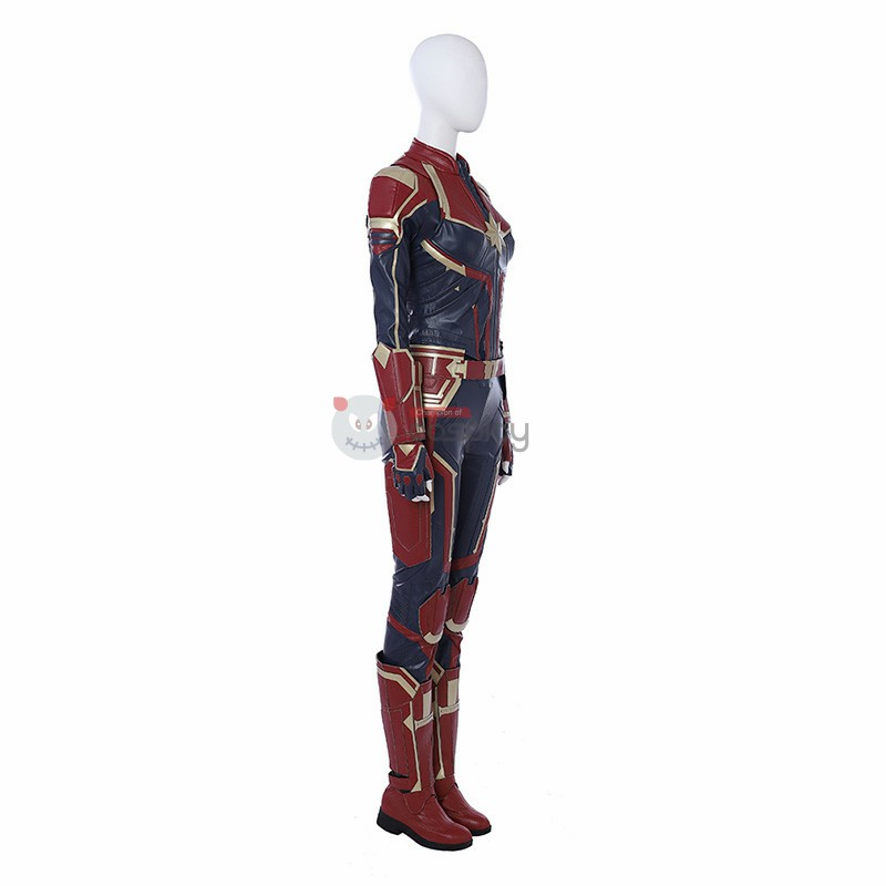 Carol Danvers Cosplay Costume Captain Marvel Costume