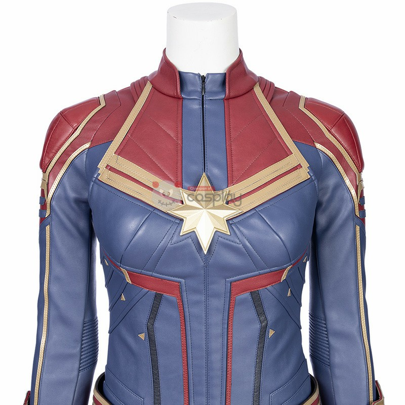 Captain Marvel  Carol Danvers Cosplay Costume-B Edition