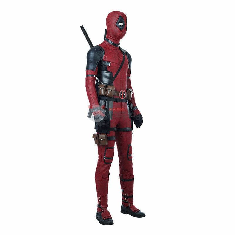 Deadpool 2 Costume Wade Wilson Deadpool Cosplay Costume Luxury Suit