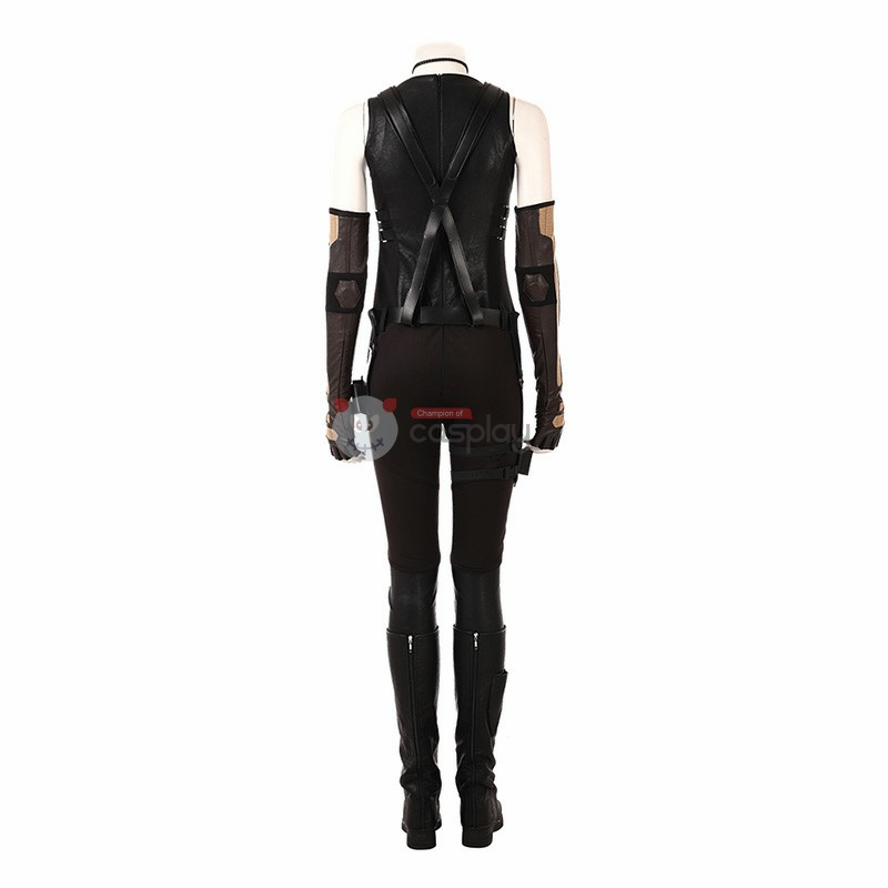 Deadpool 2 Costume Domino Cosplay Costumes Luxury Suit