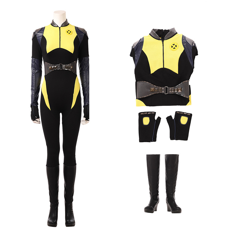 Deadpool 2 Negasonic Teenage Warhead Costume Selene Cosplay Costumes