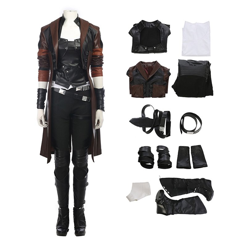 Guardians of The Galaxy 2 Costume Top Level Gamora Cosplay Costumes