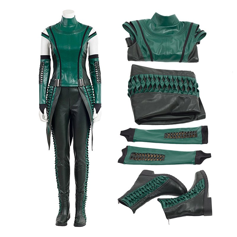 Guardians of The Galaxy 2 Costume Top Level Mantis Lorelei Cosplay Costumes