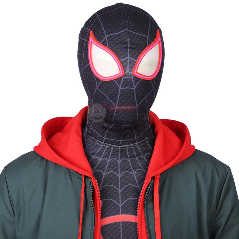 Spider Man Into The Spider Verse Aaron Davis Cosplay Costume