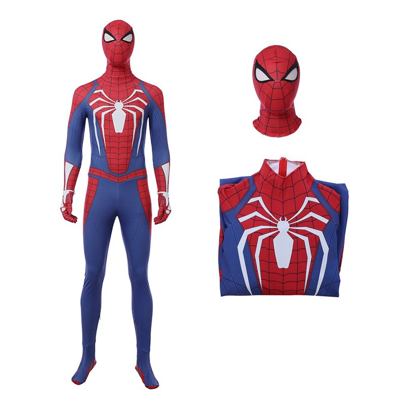 Spider Man Playstation 4 Cosplay Costumes Suit Top Level
