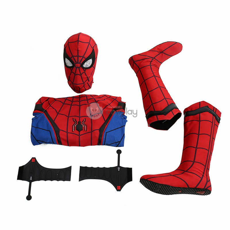 Spider Man Costume Homecoming Peter The Avengers Cosplay Costumes