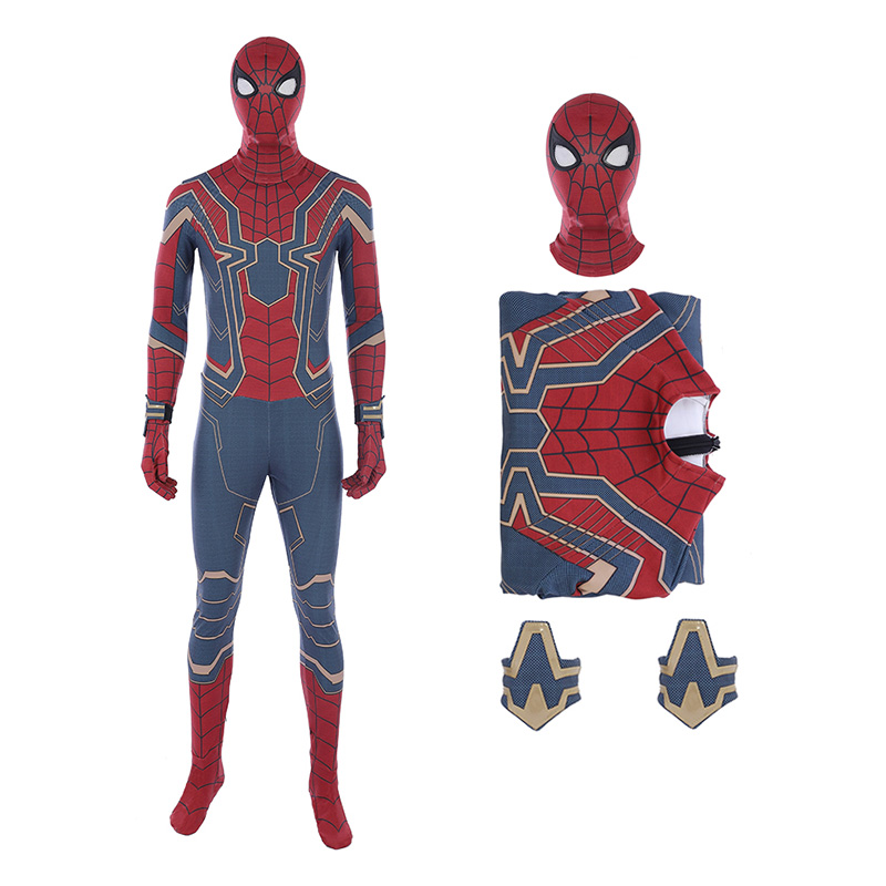 Spider-Man 2 The Avengers Infinity War Cosplay Costume