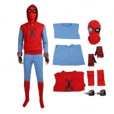 Spider Man Costume Homecoming Peter Park The Avengers Cosplay Costumes