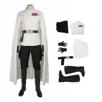 Rogue One A Star Wars Story Orson Krennic Cosplay Costume Deluxe Outfit