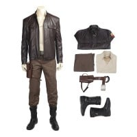 Star Wars 8 The Last Jedi Poe Dameron Cosplay Costume Full Set