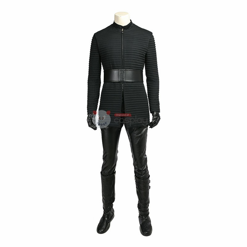 Star Wars 8 The Last Jedi Kylo Ren Costume Cosplay Deluxe Version Suit