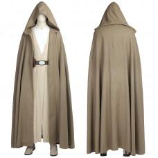Star Wars 8 The Last Jedi Luke Skywalker Cosplay Costume Suit