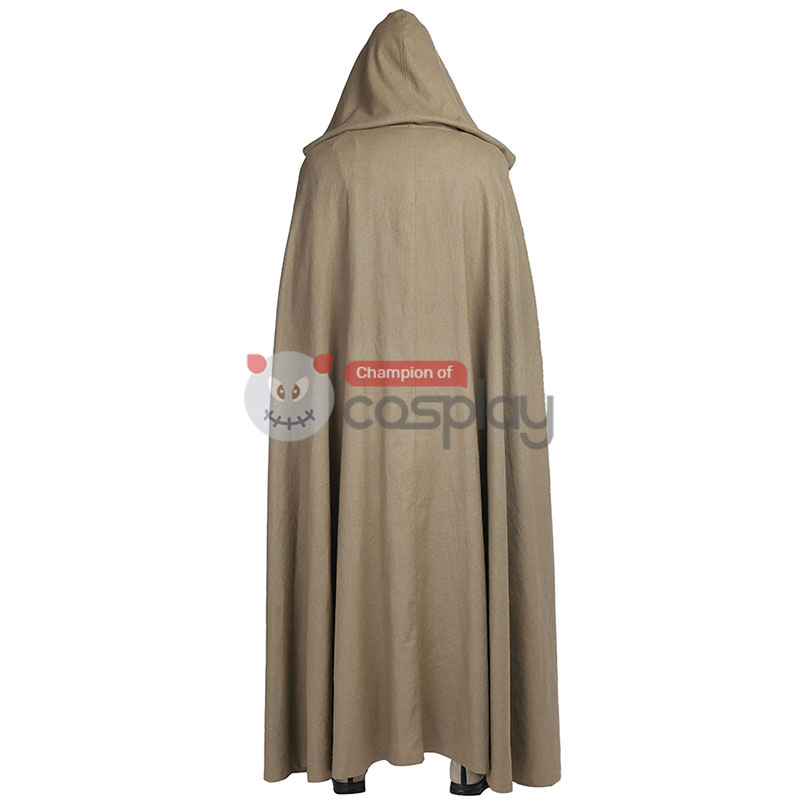 Star Wars 8 The Last Jedi Luke Skywalker Cosplay Costume Suit