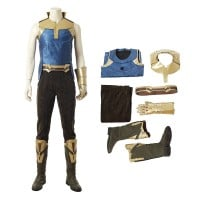 Thanos Cosplay Costume Top Level Avengers Infinity War Costume With Infinity Gauntlet