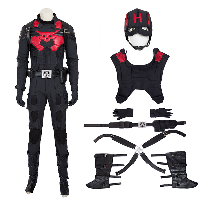The Avengers Captain America Steve Rogers Hydra Version Cosplay Costume