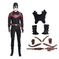The Avengers Captain America Hydra Agent Cosplay Costume Deluxe Outfit