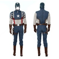 The Avengers Captain America Cosplay Costume Jacket