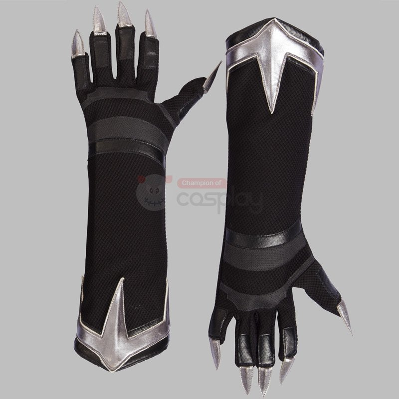 Ready To Ship Black Panther Cosplay Costume Deluxe Outfit