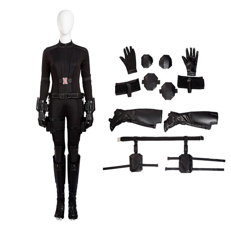 The Avengers Captain America Civil War Black Widow Natasha Romanoff Cosplay Costume
