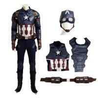 The Avengers Captain America Civil War Steve Rogers Cosplay Costume
