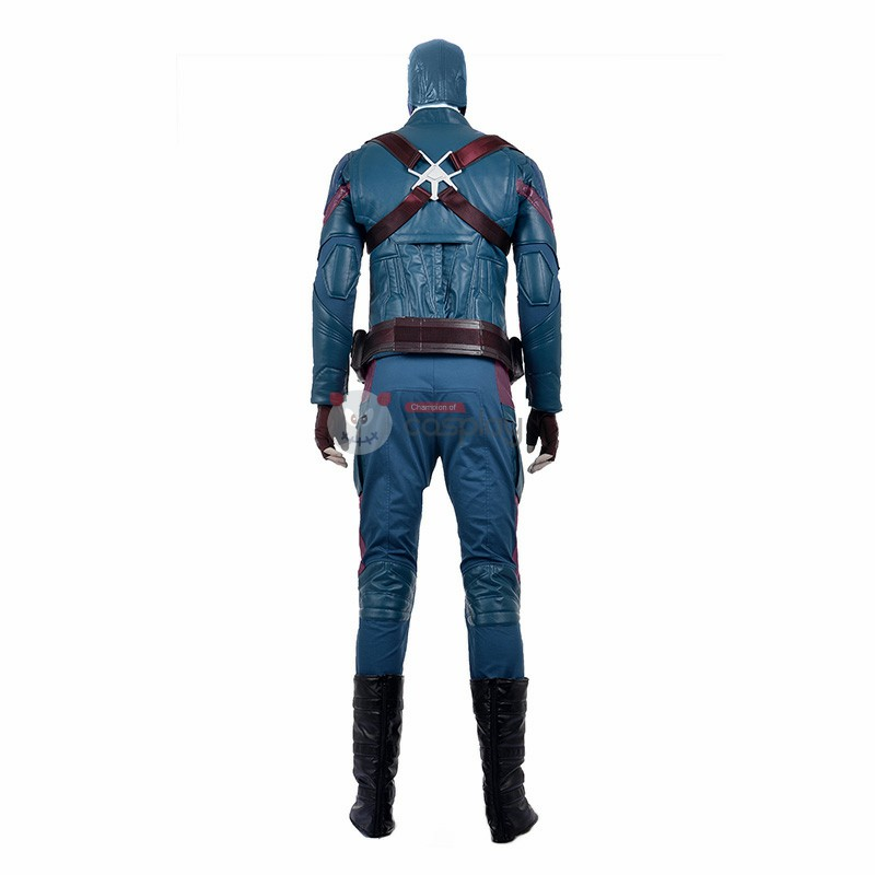 Marvel Captain America Civil War Captain America Steven Steve Rogers Cosplay Costume