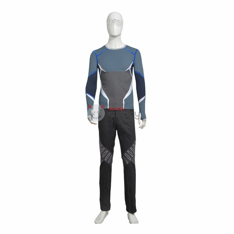 Marvel Avengers Quicksilver Cosplay Costume