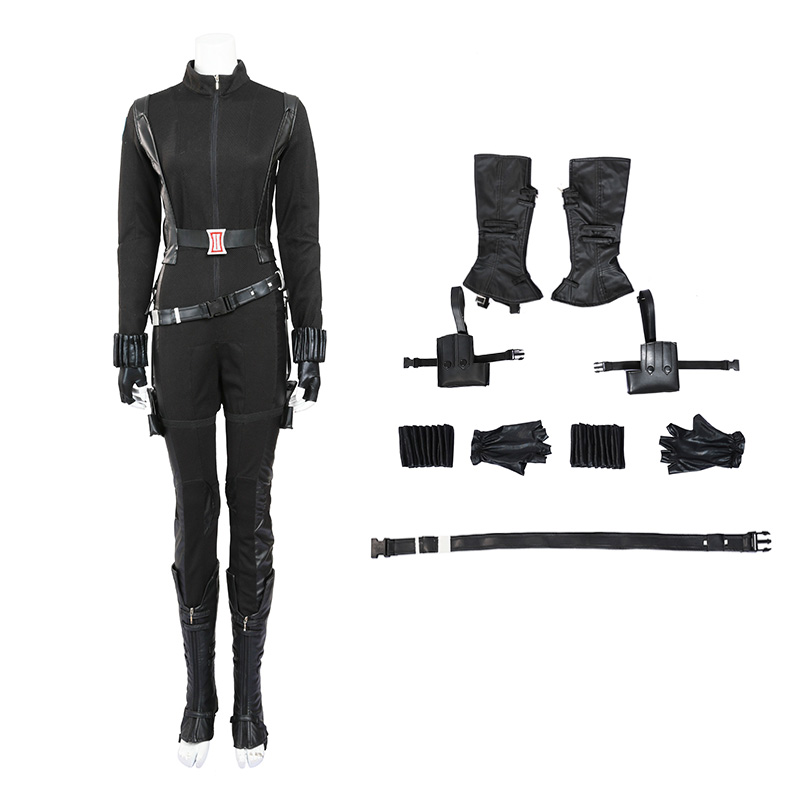 Marvel Captain America 2 Black Widow Natasha Romanoff Cosplay Costume