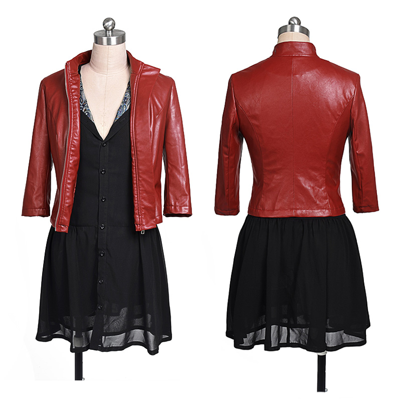 Marvel The Avengers 2 Scarlet Witch Cosplay Costume