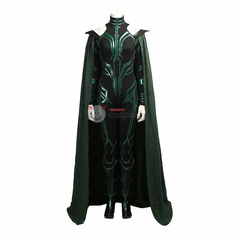 Thor Ragnarok Cosplay Costume Top Level Hela Costume Black Version