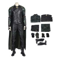 Thor Ragnarok Cosplay Costume Top Level Loki Costume