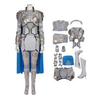 Thor Cosplay Costume Top Level Valkyrie White War Armor Costume