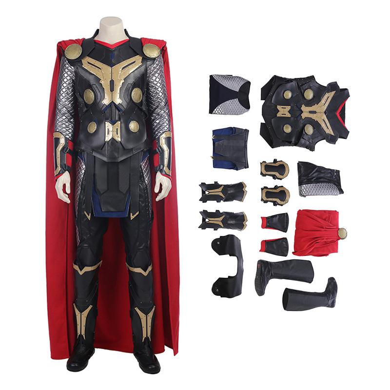 Thor The Dark World Cosplay Costume Top Level Thor Costume