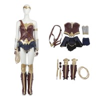 Wonder Woman Diana Prince Costume Full Set Costume