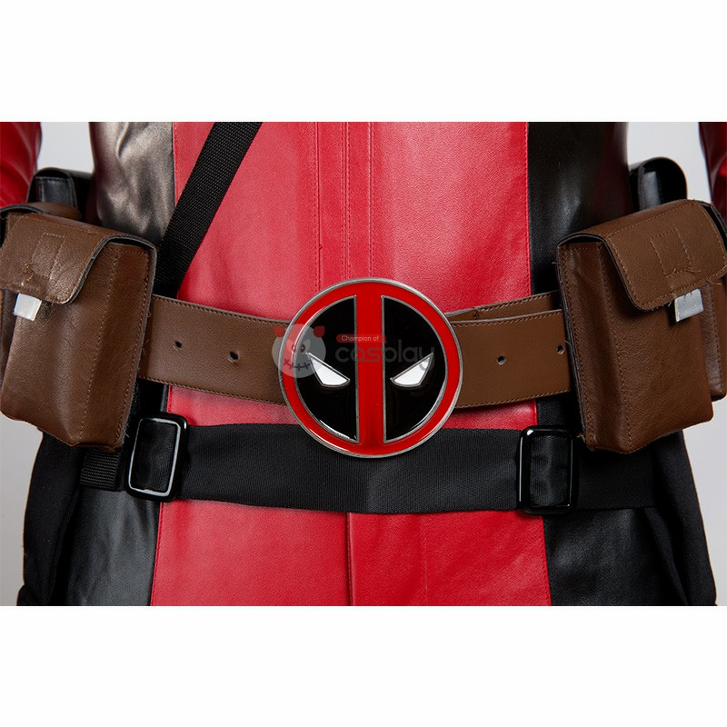 X-Men Deadpool Costume Wade Wilson Cosplay Costume Luxury Suit