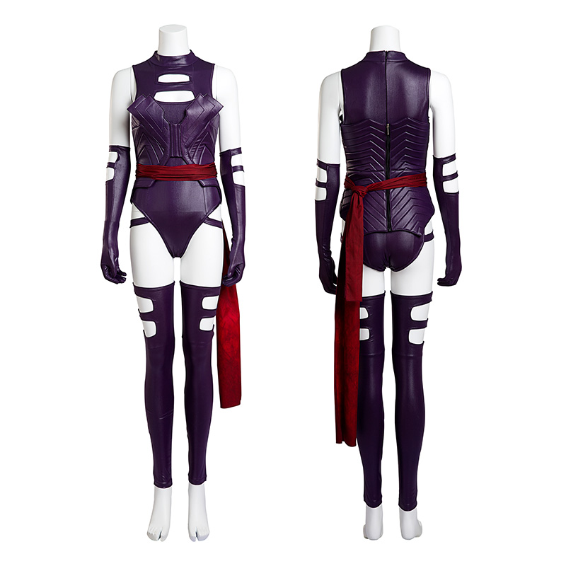 X-Men: Apocalypse Psylocke Costume Elizabeth Braddock Cosplay Costume Top Level