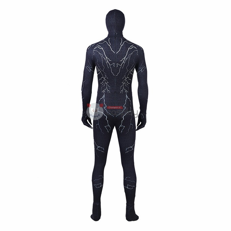 Venom Journalist Eddie Brock Costume Eddie Cosplay Costume Top Level