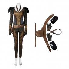 DC Green Arrow Season 4 Hawkgirl Cosplay Costume