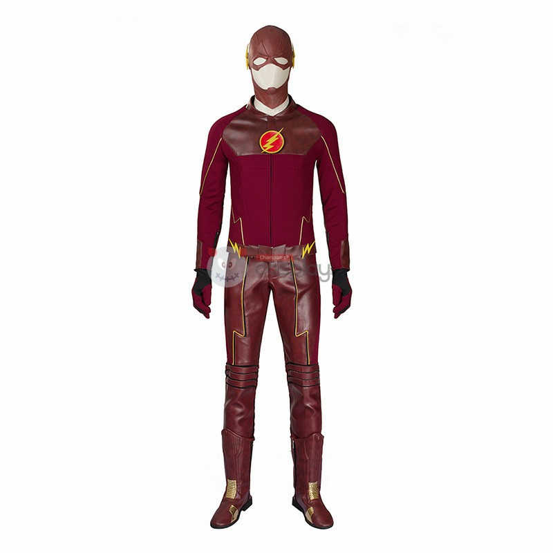 DC The Flash Season 1 Barry Allen Cosplay Costume