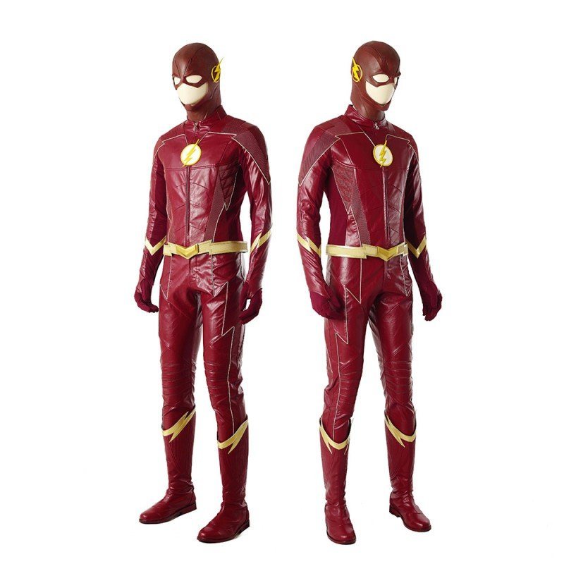 Top Level DC The Flash Season 4 Barry Allen Cosplay Costume