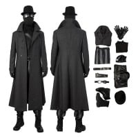 Spider Man Noir Costume Spider Man Into The Spider Verse Noir Cosplay Costume