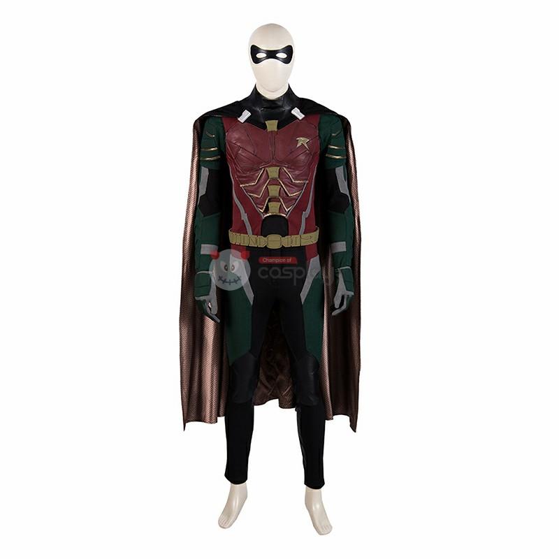 Titans Robin Costume Batman Boy Wonder Cosplay Costume