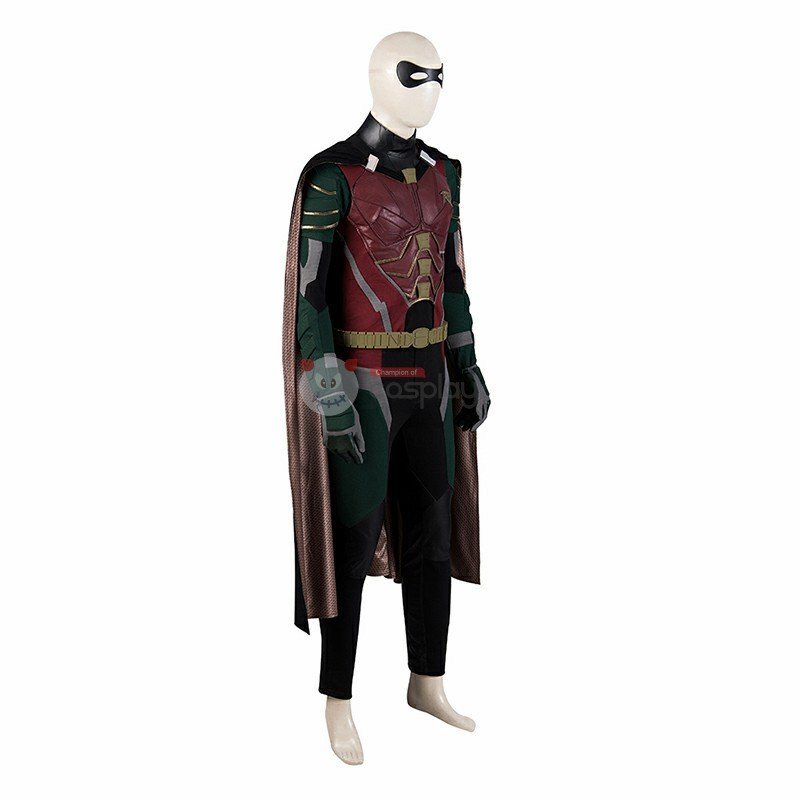 Titans Robin Costume Batman Boy Wonder Cosplay Costume
