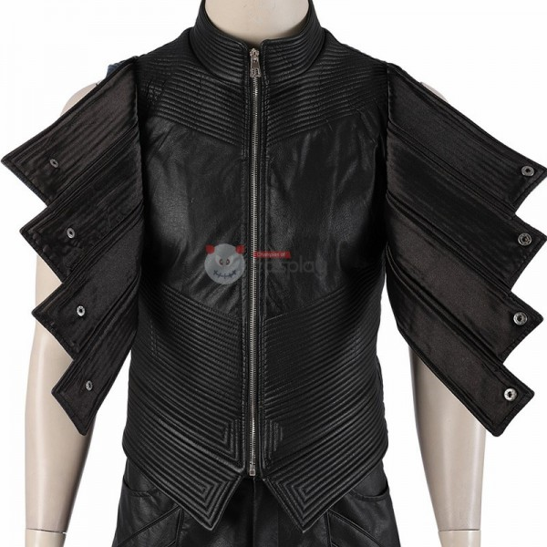 DMC5 Devil May Cry 5 Vergil Aged Cosplay Costume Outfit Jacket Full Set