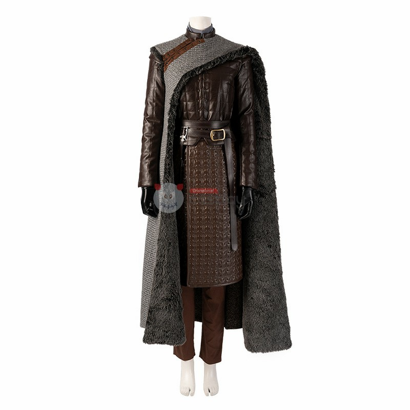 Arya Stark Cosplay Costume Game of Thrones 8 Cosplay Costume